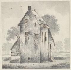 Hoge huis te Zoelmond, in de Betuwe