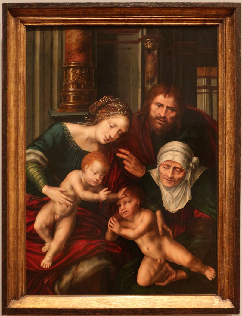 Holy Family with Saint Elisabeth and Saint John the Baptist