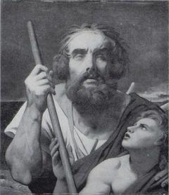 Homère et son guide