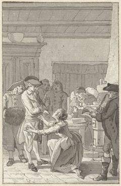 Illustratie voor de roman Gustav Lindau