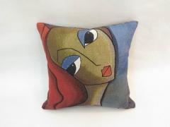 Insomnia - Colorful custom throw pillow cushion - Modern Abstract Pop Art by Fidostudio
