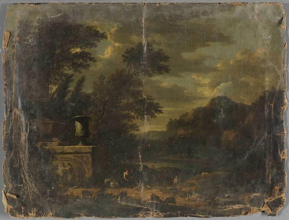 Italian ideal landscape