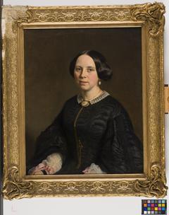 Johanna Maria Constantia Vreede (1829-1897). Echtgenote van Otto van Rees