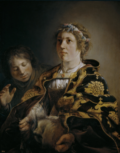 Judith offering the Head of Holofernes