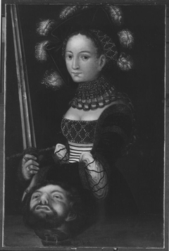 Judith with the head of Holopherne