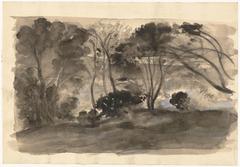 Landscape: Black Trees II