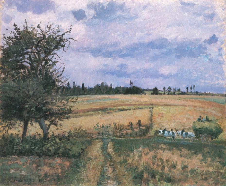 Landscape near Pontoise