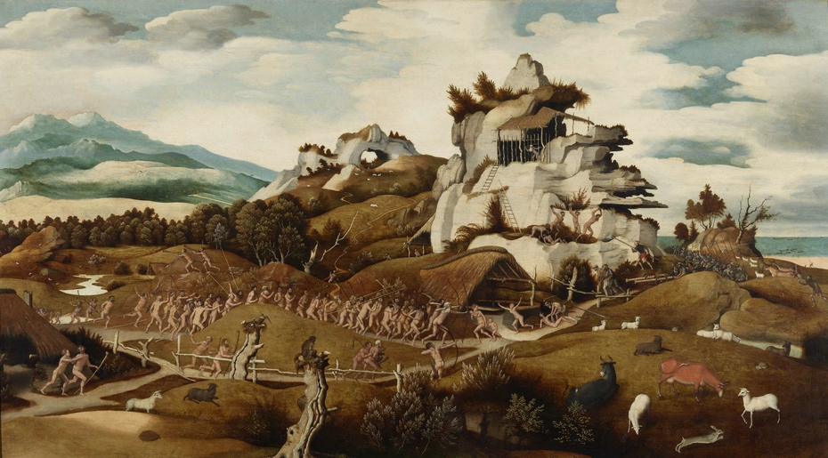 Landscape with an Episode from the Conquest of America