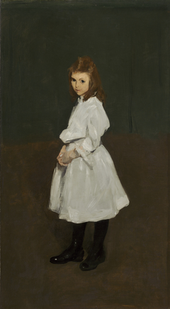 Little Girl in White (Queenie Burnett)