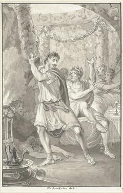 Lucius Aemilius Sejanus redt het leven van Tiberius