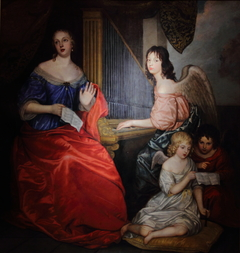 Mademoiselle de la Vallière and Her Children