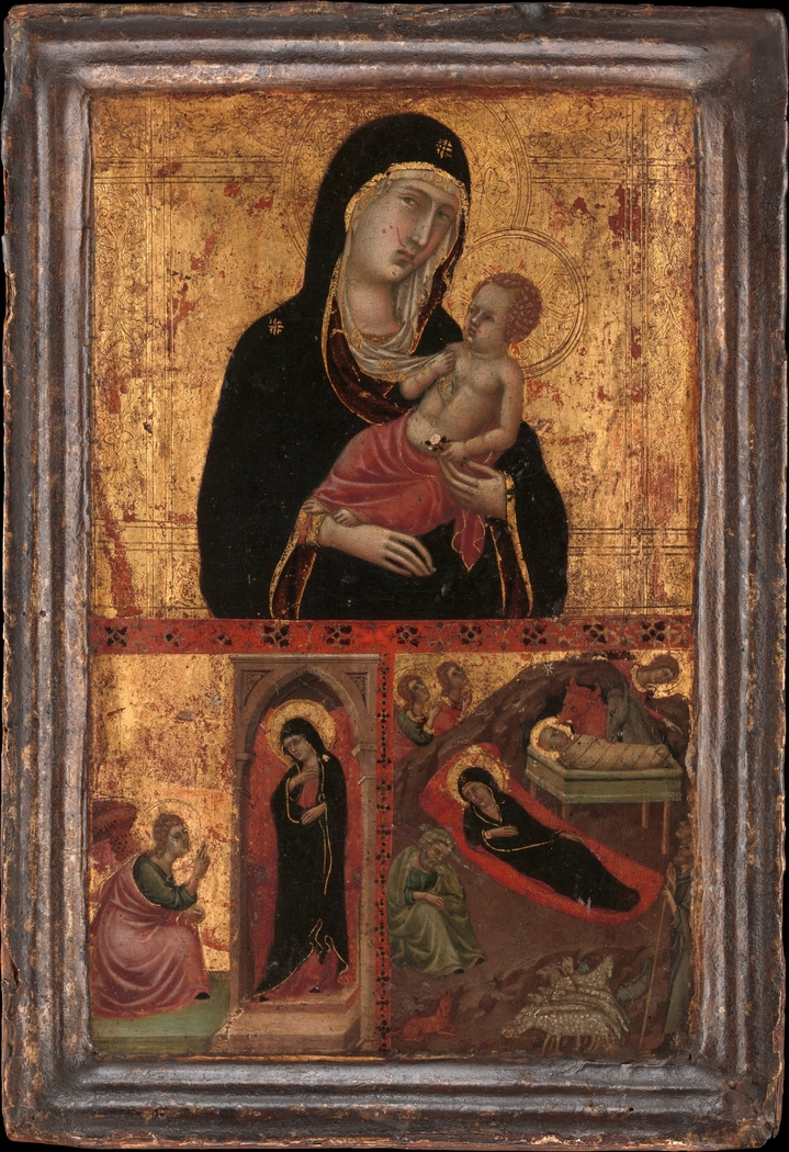 Madonna and Child with the Annunciation and the Nativity