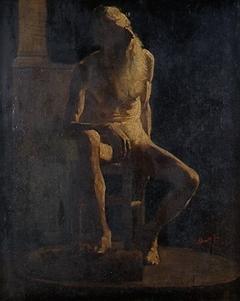 Male Figure (Academy, Nude Study)