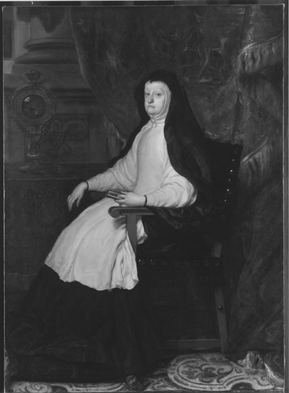 Maria Anna von Österreich, Gemahlin König Philipps IV. von Spanien, als Witwe