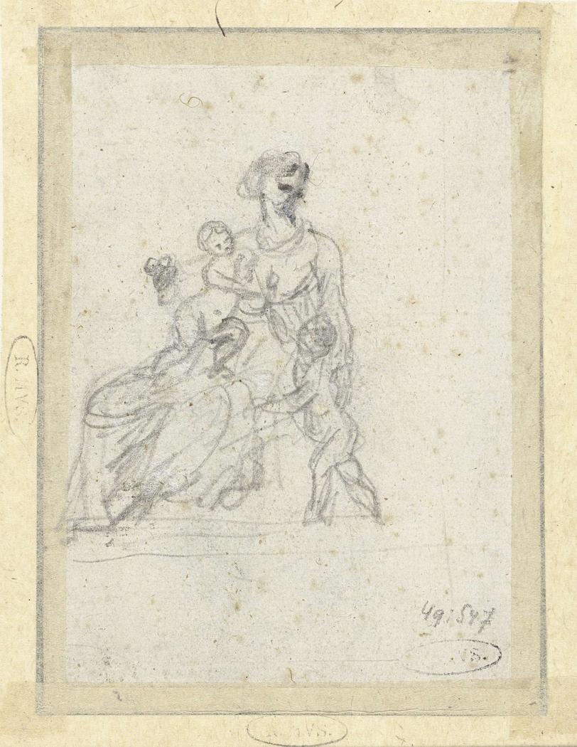 Maria met kind en H. Johannes