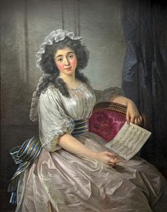"""Marie Thérèse Eléonore Guignon dite """"Mademoiselle Lescot"""" épouse de Louis Cécile Marie de Campistron de Maniban"""