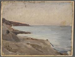 Marine landscape – Yalta. From the journey to Crimea