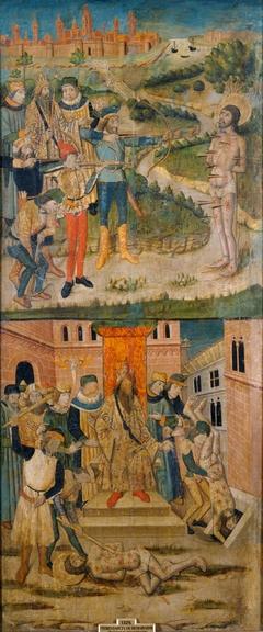 Martirio de San Sebastián y San Policarpo