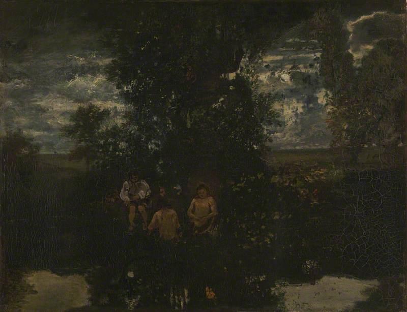 Moonlight: The Bathers