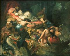 Mort de Sardanapale