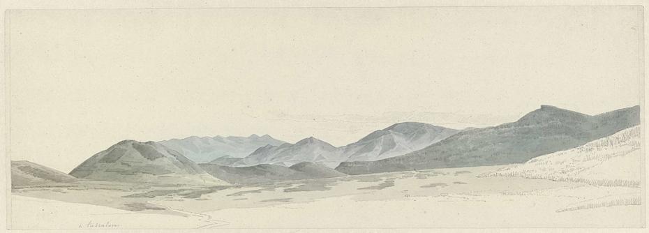 Mountain Landscape at Tusculum