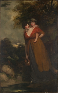 Mrs. Richard Brinsley Sheridan (Hester Jane Ogle, 1775/76–1817) and Her Son (Charles Brinsley Sheridan, 1796–1843)