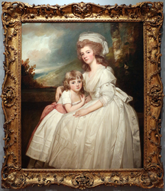 Mrs. Richard Pryce Corbet and Her Daughter Mary