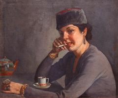 Mujer Fumando - Woman Smoking