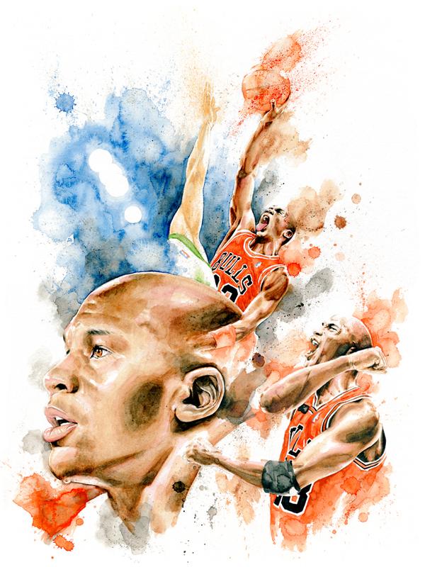 NBA - Jordan tribute