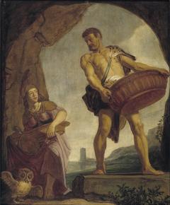 Odysseus en Minerva