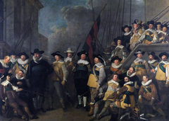 Officers and other guards of district V in Amsterdam led by kaptein Cornelis de Graeff and luitenant Hendrick Lauwrensz