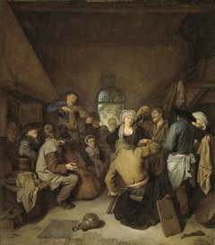 Peasants making Music and Dancing