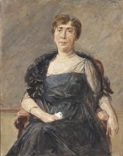 Portait of Jeanette Cornelia A. Onnes van Nijenrode-Cockuijt (1883-1936)