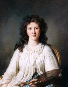 Portrait d'Adélaïde Binart, épouse Lenoir (1769-1832), peintre