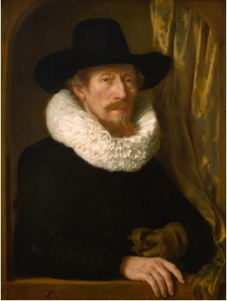 Portrait de Jean Pietersz van den Eeckhout, père de l'artiste