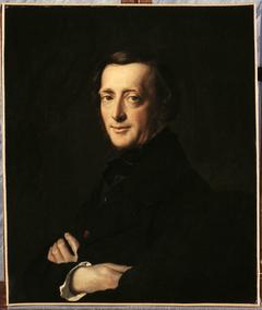 Portrait du Docteur M.G. Worms