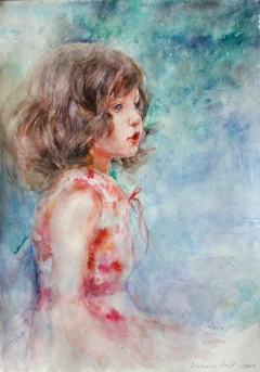 "Portrait -""Maggie"""