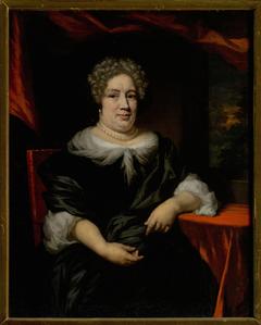 Portrait of a fat lady (Petronella Dunois Groenendijk?)