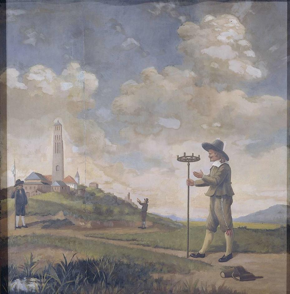 Portrait of a Surveyor (Andries van der Wal)