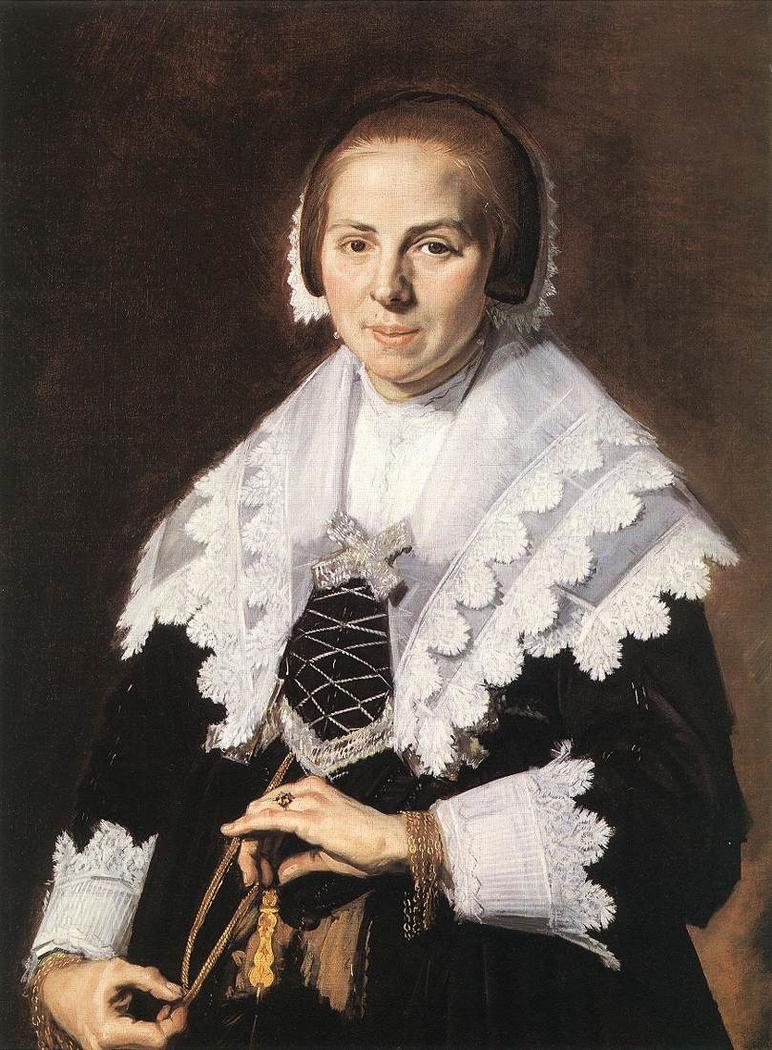 Portrait of a Woman Holding a Fan