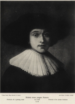 Portrait of a Young Man wrongly called Burgomaster Six