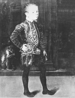 Portrait of a young prince