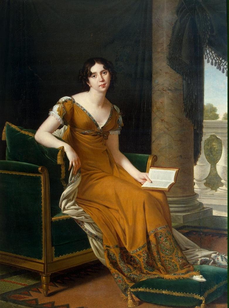 Portrait of Elisabeth Demidova