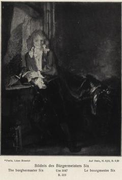 Portrait of Jan Six by a Window