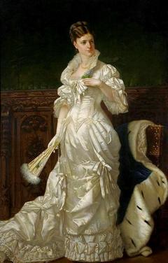 Portrait of Józefina Amszyńska née Guzowska.