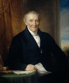 Portrait of Rodolphe le Chevalier, Merchant in Amsterdam and one of three Founders of the Holland Iron Railroad Company