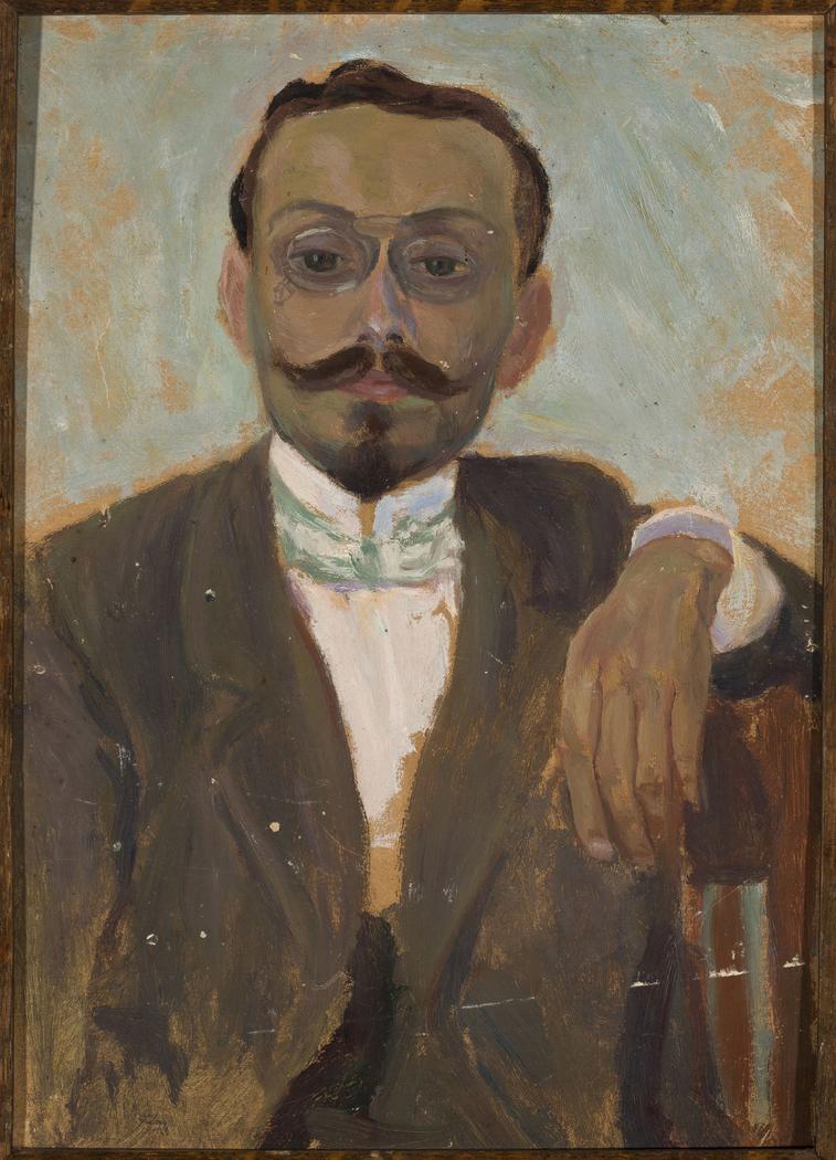 Portrait of sculptor Bolesław Bałzukiewicz