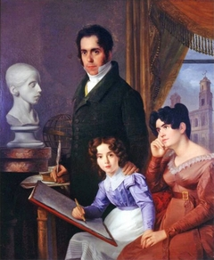 Portrait of the Barros Family