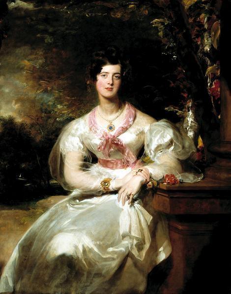 Portrait of the Honorable Mrs. Seymour Bathurst
