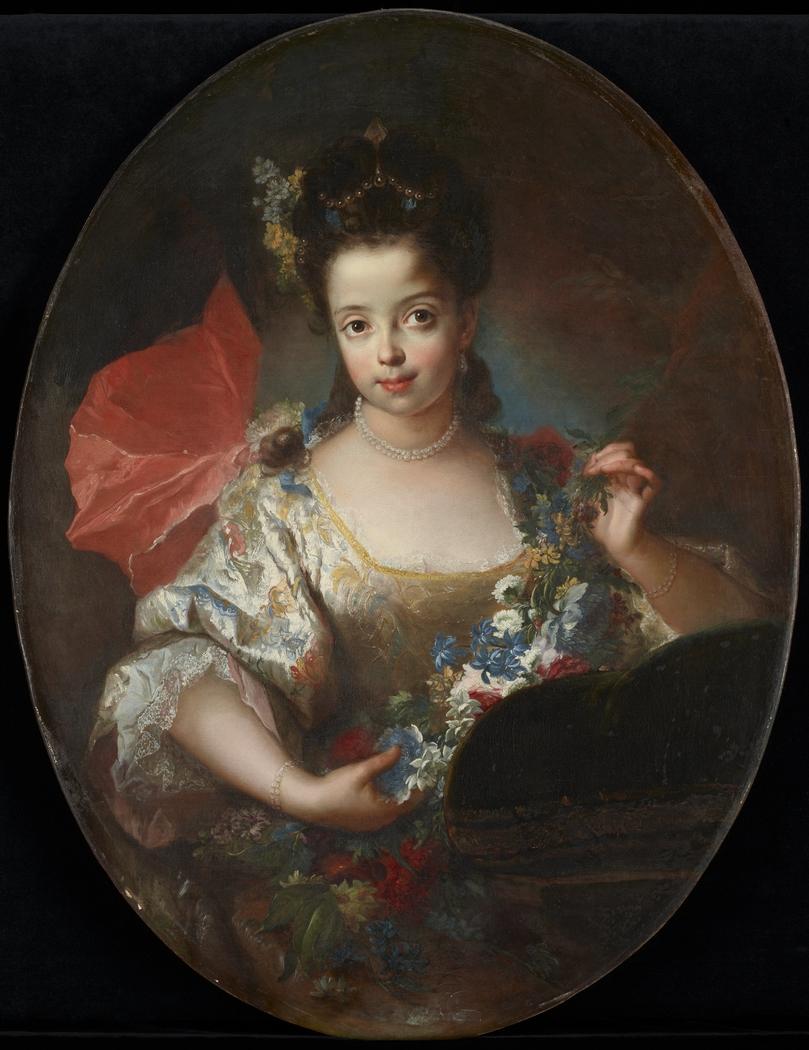 Portrait of Ursule-Anne Dubuisson